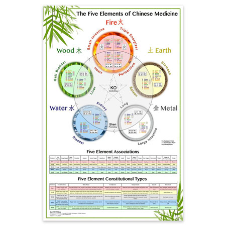 The World's Best Five Element Wall Chart